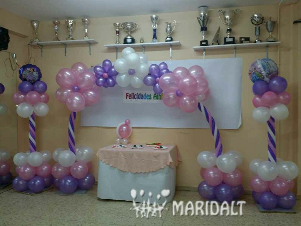 Maridalt decoraci n globos for Figuras de decoracion